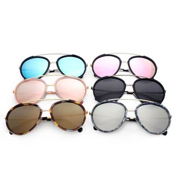 Taken Polarized Round Aviators | Multiple Colors