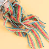 Rainbow Sour Belts - Large | Candy Club