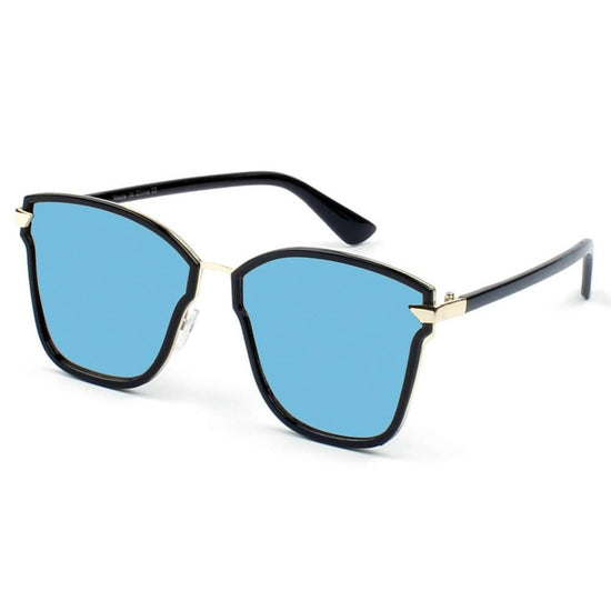 Indie Fashion Flat Lens Frame Sunglasses | Multiple Colors