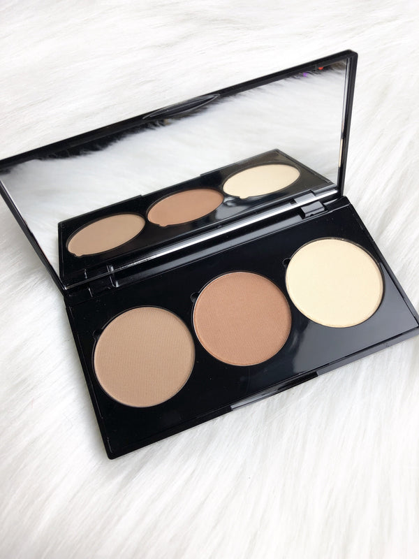 Triple Threat Powder Contour Pallet