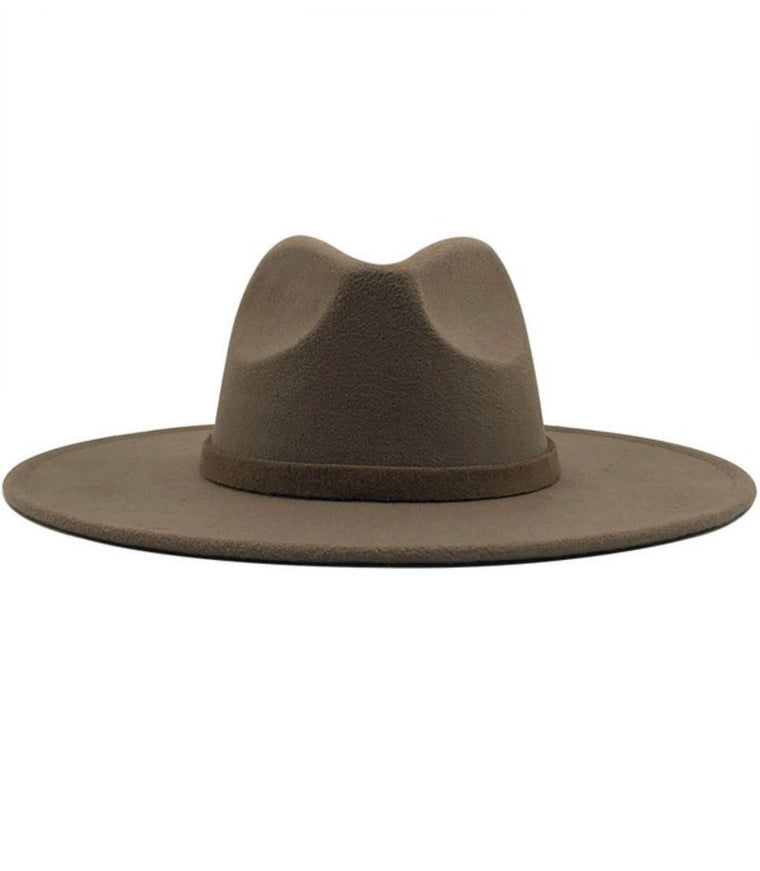 Mayson Wide Brim Felt Panama Hat | Multiple Colors