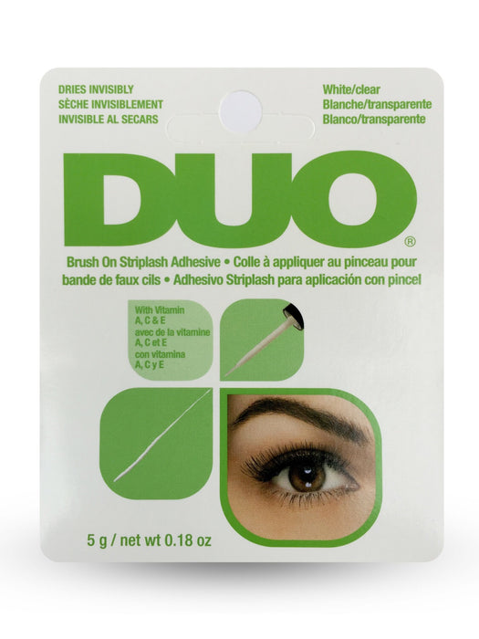 Duo Brush On Lash Adhesive | CLEAR