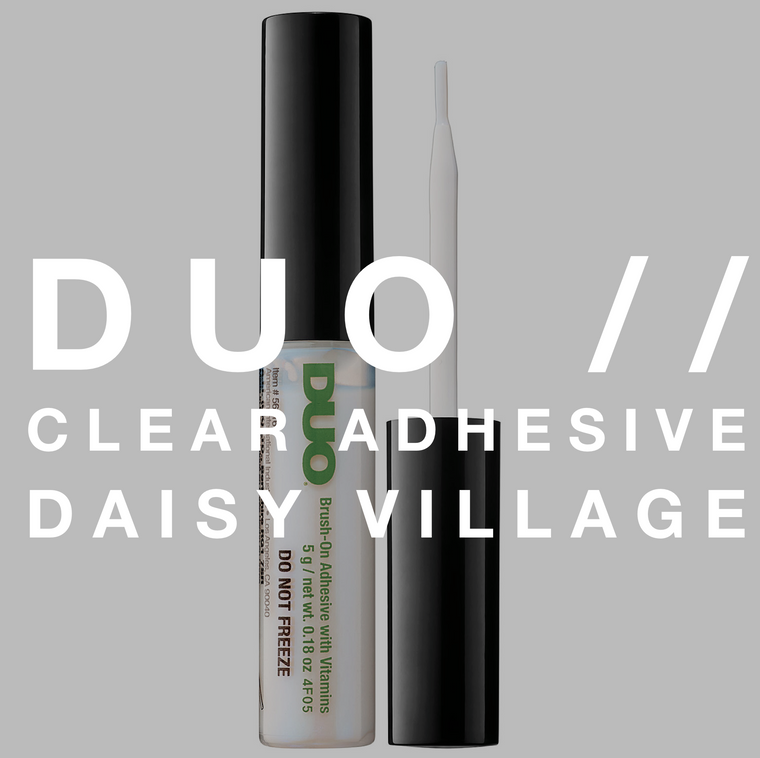 Duo // Clear Adhesive