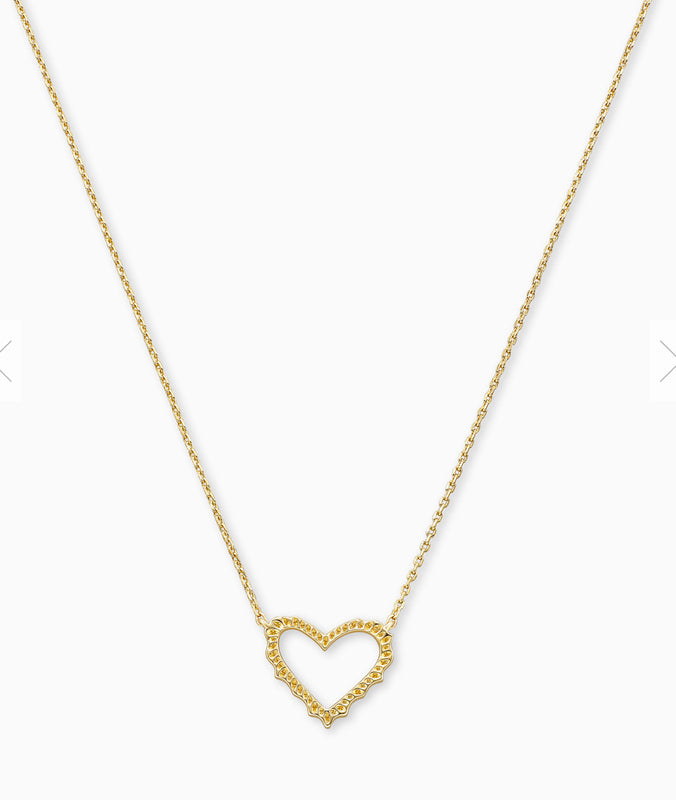 Sophee Heart Pendant Necklace | Multiple Colors