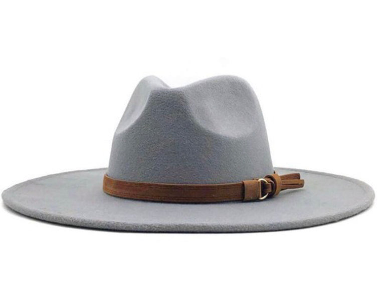 Windy City Belted Panama Hat | Multiple Colors