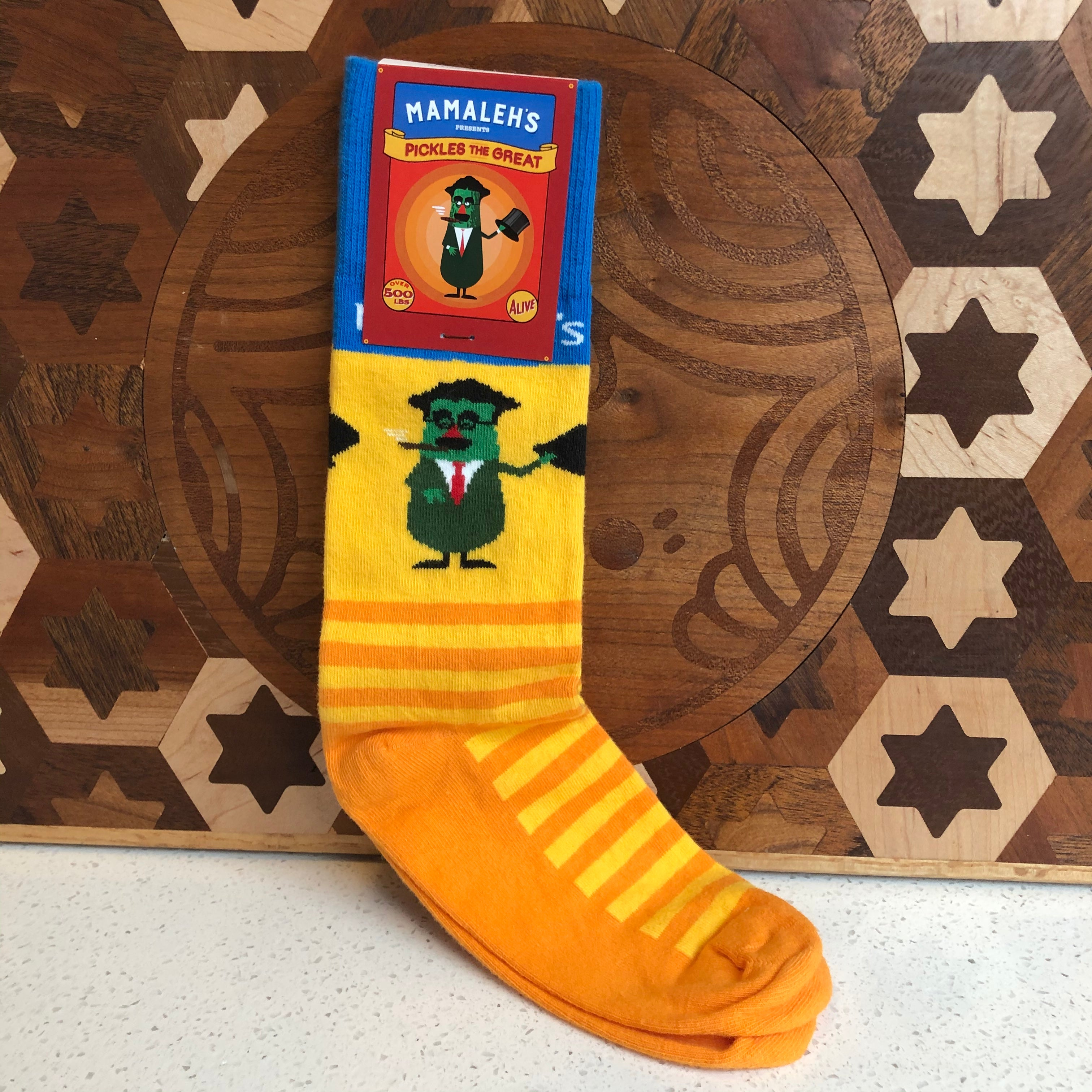 Pickles the Great Socks