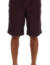 Bordeaux Beachwear Shorts