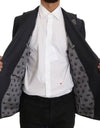 Gray Crystal SICILY Heart Blazer
