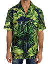 Green Banana Silk Short Sleeve Shirt