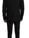 Black Wool 2 Piece Slim Fit Suit