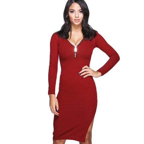 Alexa Zipper Dress