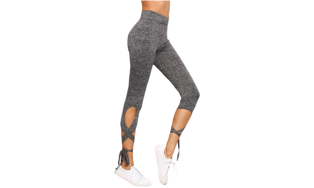 High-Wasted Cut Out Leggings