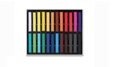 24 Colour Hair Chalk Palette