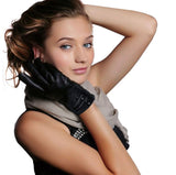 Touch Screen Genuine Leather Gloves