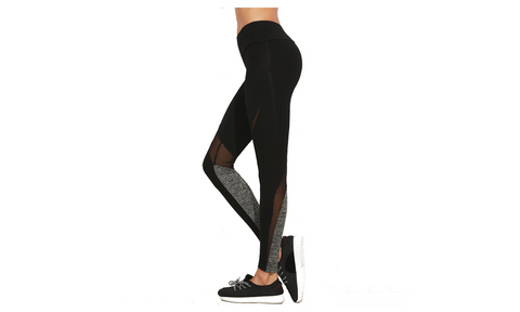 High-Wasted Mesh Leggings