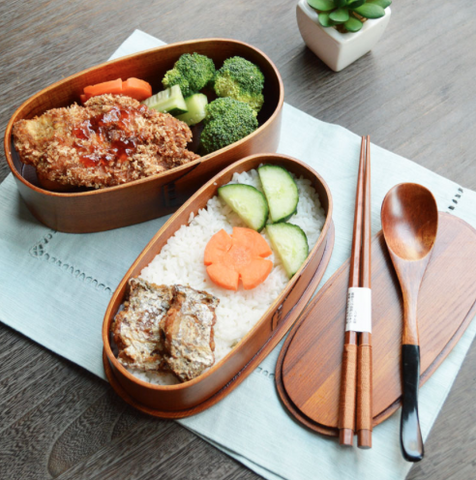 Woden Bento Box with Band