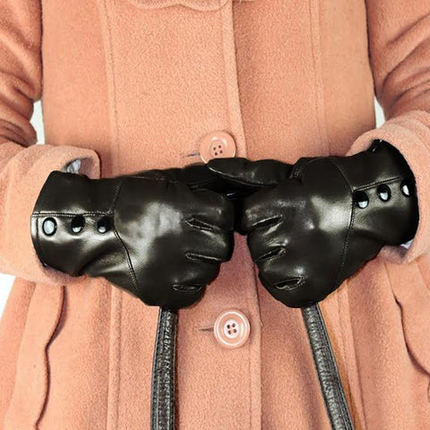 Sheep Skin Genuine Leather Gloves