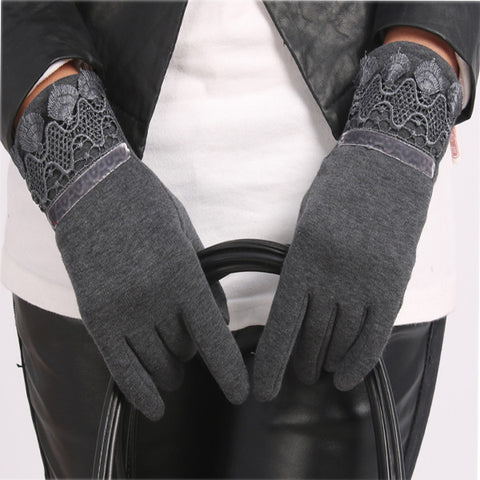 Touch Screen Thermal Lace Gloves