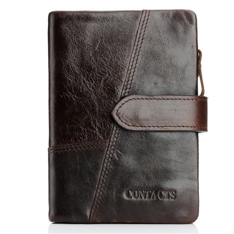 Men's Vintage Cowhide Leather Wallet