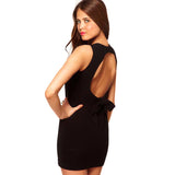 Hollow Back Dress