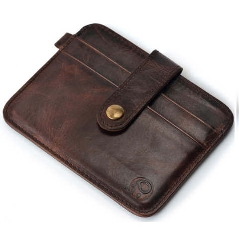 Men's Clasp Mini Wallet