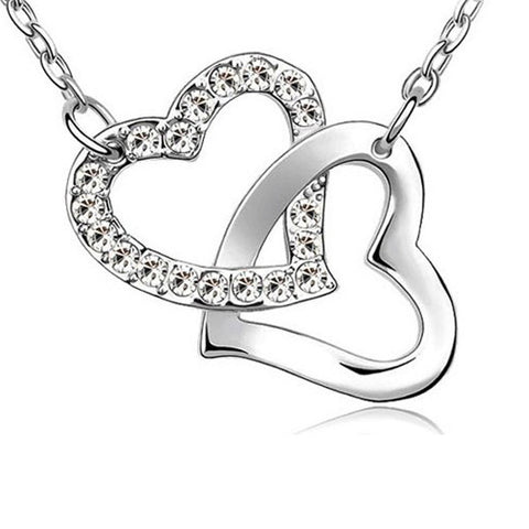 Entwined Heart Necklace