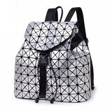 Geometric Polygonal Backpack