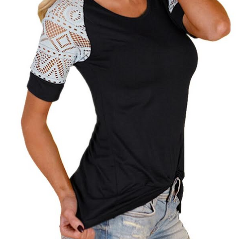 Tribal Sleeve Top