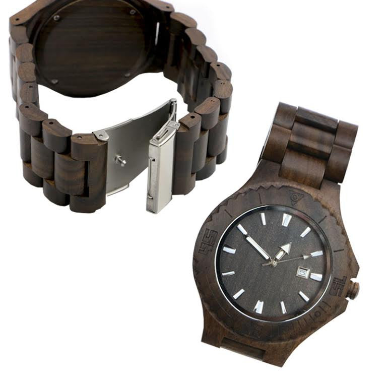 Wooden Chestnut Watch