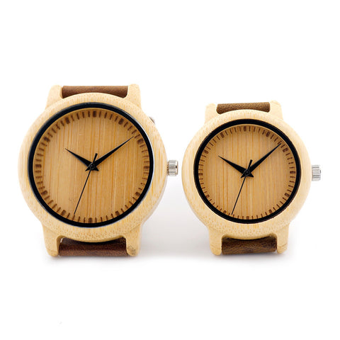 Handcrafted Natural Wood Watch