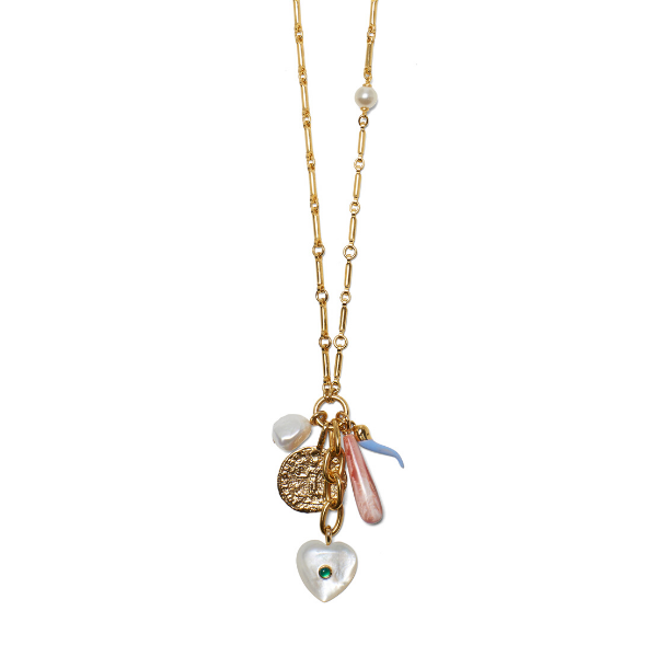 Lizzie Fortunato | Amalfi Charm Necklace