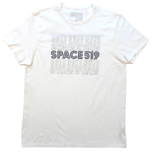 SPACE 519 10 Year Anniversary Tee