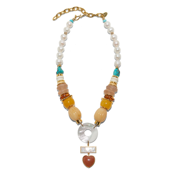 Lizzie Fortunato | Capri Necklace