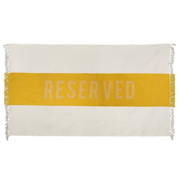 Copy of Sir/Madam | 'Reserved' Beach Towel