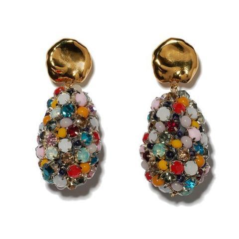 Lizzie Fortunato Roman Holiday Earrings