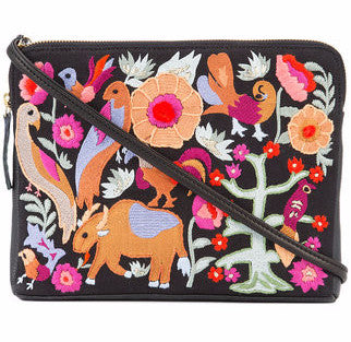 Lizzie Fortunato Safari Folk Clutch