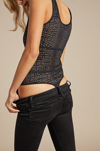 Thumbnail image #2 of Essaouira Bodysuit in Black [Anastasia 1]