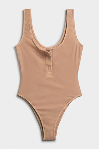 Thumbnail image #6 of Silky Bodysuit in Buff
