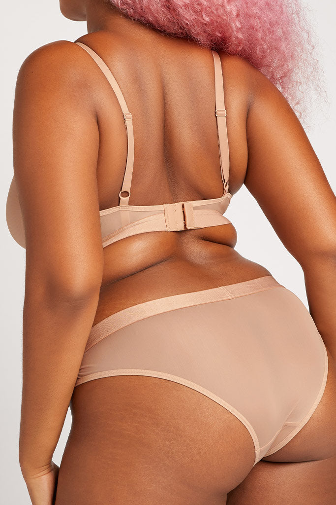 Product photo #1 of Silky Brief in Buff [Hannah L]