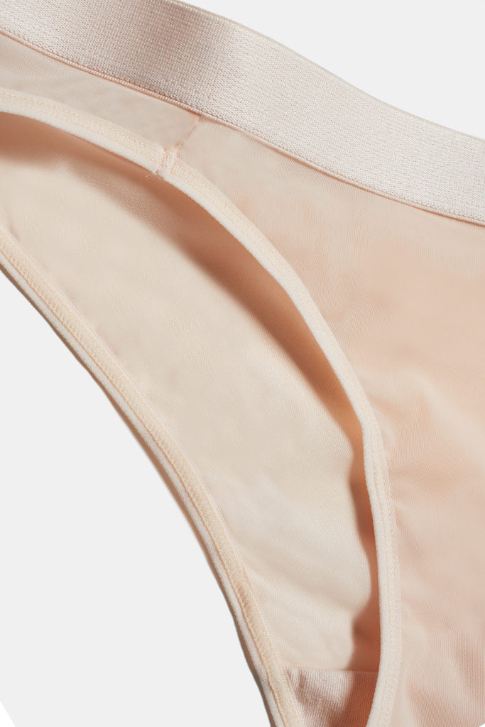 Product photo #2 of Silky Brief in Peach