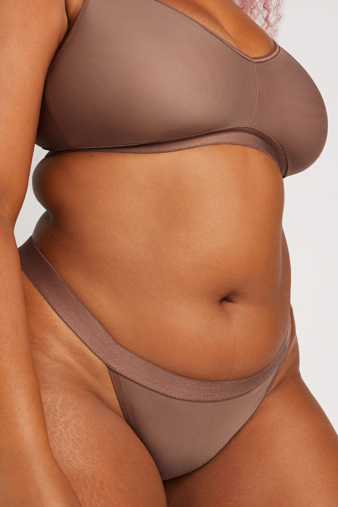 Product photo #1 of Silky Thong in Haze [Hannah L]