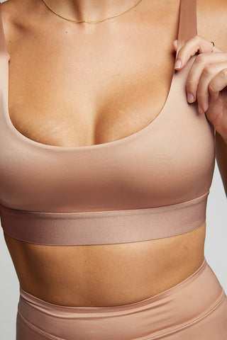 Thumbnail image #1 of Glacé Bra Top in Buff
