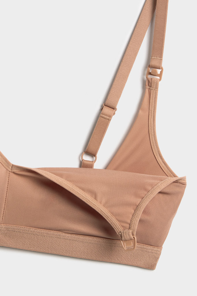 Product photo #2 of Silky Nursing Bra in Buff