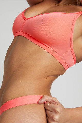 Thumbnail image #2 of Sieve Non-Wire Bra in Coral