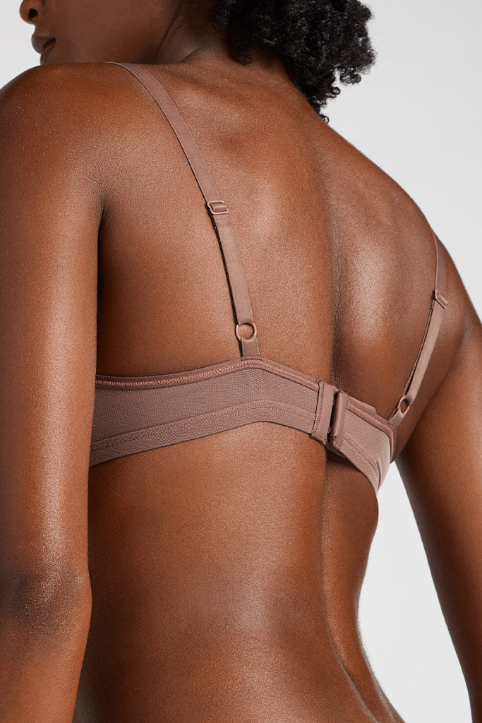 Product photo #2 of Sieve Non-Wire Bra in Haze [Aube 1]