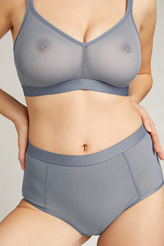 Thumbnail image #7 of Sieve Non-Wire Bra in Slate [Sabrina 2+]