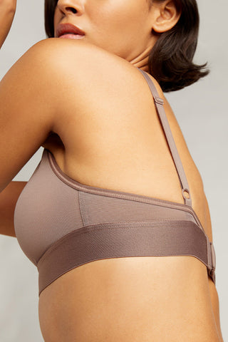 Thumbnail image #4 of Sieve Triangle Bra in Haze
