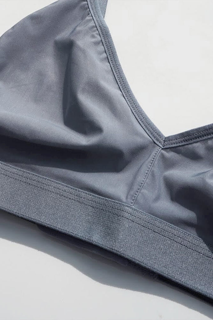Silky Non-Wire Bra 2.0 in Slate