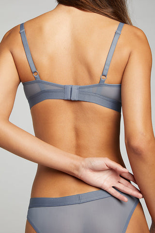 Thumbnail image #3 of Silky Nursing Bra in Slate