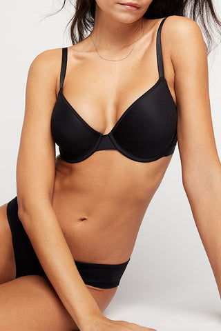 Thumbnail image #1 of Stealth Mode Demi Bra in Black [Paula 32C]